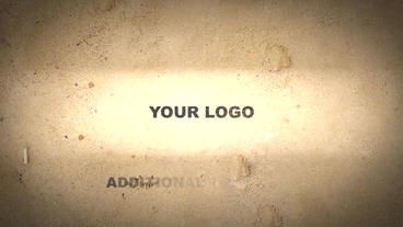 Sand Logo After Effects Project