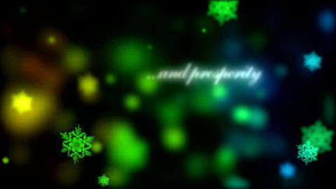 Christmas Snowflakes After Effects Template