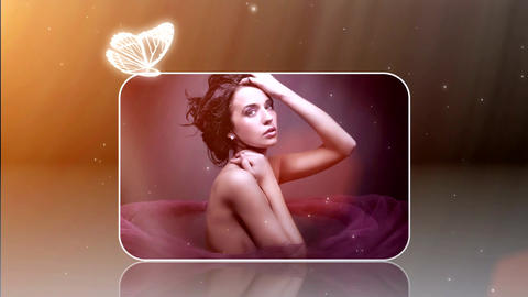 Sunset Butterfly After Effects Template