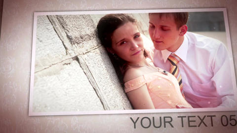 Wedding Photo Album After Effects Template