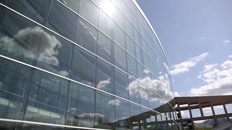 Salt Lake City Library stock footage