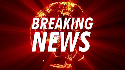 Shining Globe Breaking News 1 Animation