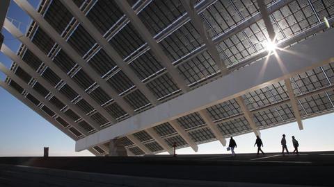 Solar panel Footage