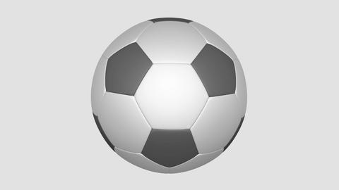 Soccer Ball from patches Animation