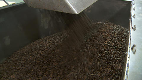Coffee Exiting Blender 01 stock footage