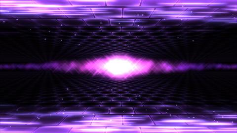 Sideways Travel Light Animation - Loop Purple Animation