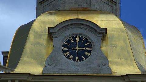 Chimes, watch Peter and Paul fortress. St. Petersb Footage