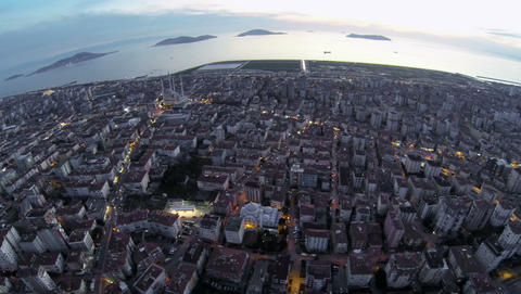 Crowded city of Istanbul Footage