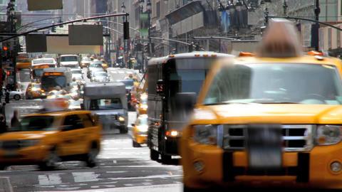 City Street Time Lapse Footage