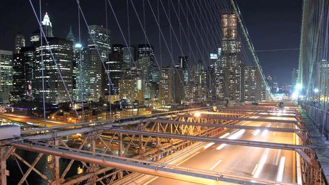 Bridge Traffic Time Lapse Footage