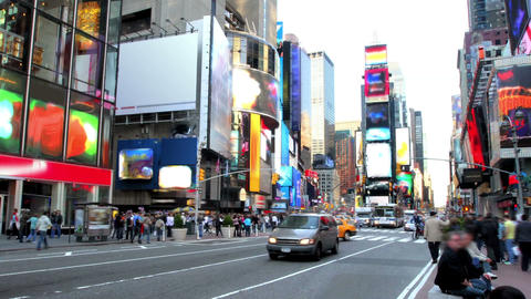 Times Square Time Lapse 1 Footage