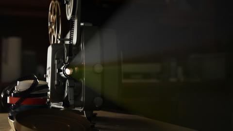 Vintage 8mm Film Projector ビデオ