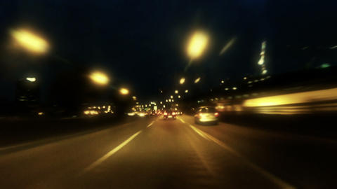 Paris By Night 10 stock footage