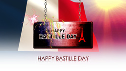 happy bastille day Animation
