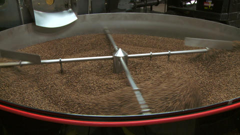 Coffee Cooling Bin Ws 01 stock footage