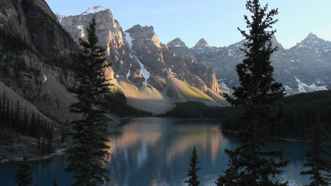 Moraine Lake Banff h 08 Footage