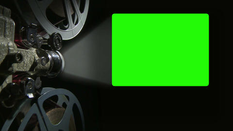 Green Screen Projection 4x 3 02 stock footage
