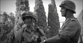 american german soldier black & white 21 Footage