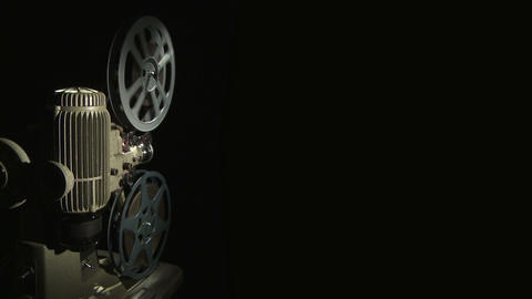 Film Projector w 08 Footage