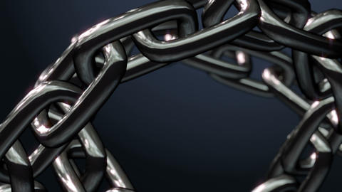 Chain Ring stock footage