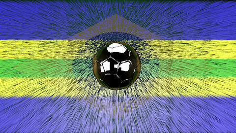 brazil spinning ball Animation