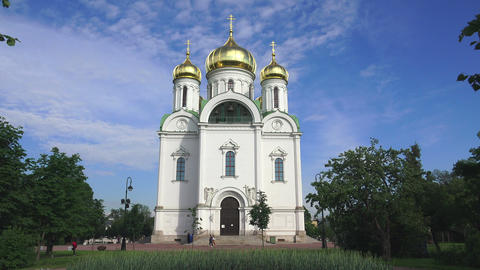 The Cathedral Of St. Catherine. Pushkin. Catherine Footage