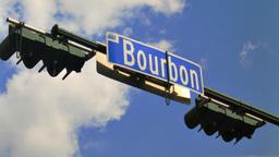 Bourbon Street Sign Time-Lapse Footage