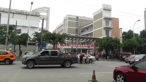 Jintang Town Chengdu Area Sichuan China 52 street  Footage