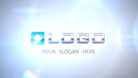 3 D Business Logo Animation Build from Pieces After Effects Template