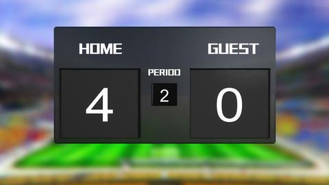 Soccer Match Scoreboard 0