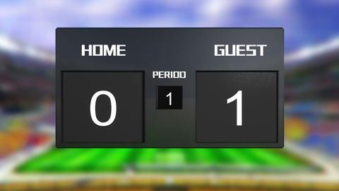 Soccer Match Scoreboard 1