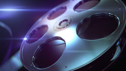 Film Reel Loopable Background stock footage