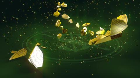 Dollar coin crash Animation
