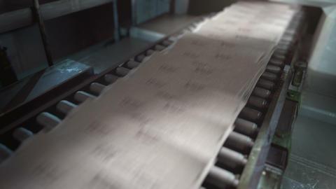 Printing Machine Animation