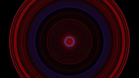4 K VJ loop circle 04 Footage