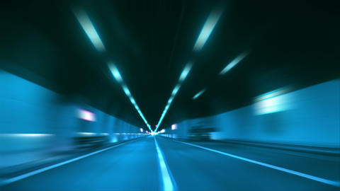 4 K tunnel abstract speed 12 Archivo
