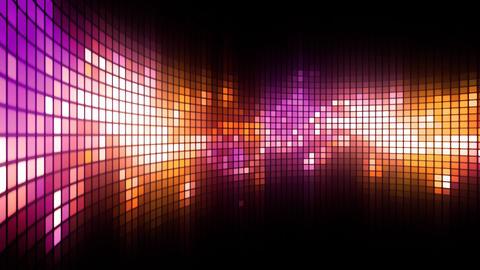 Magenta LED Dance Lights Wall Animation