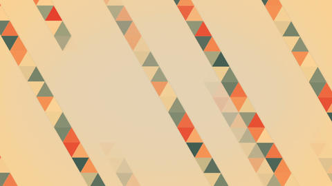 Triangles Abstract Geometric Loopable Background stock footage