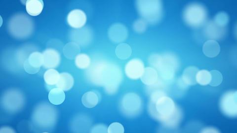 shiny blue defocused lights loopable background Footage