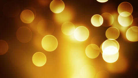 orange bokeh lights loop background Animation