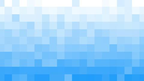 white blue mosaic tile loopable background Animation