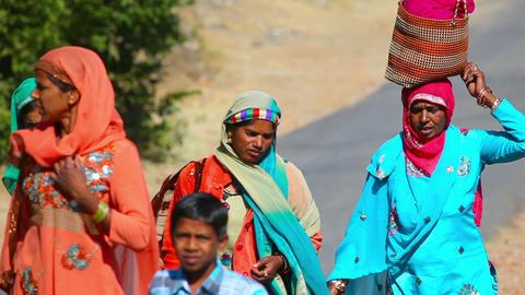 Rajasthan natives Footage