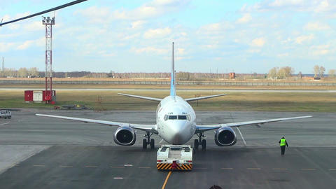 Before takeoff Footage