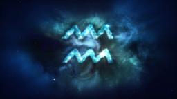 Aquarius nebula loop Animation