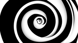Spinning spirals. A Animation