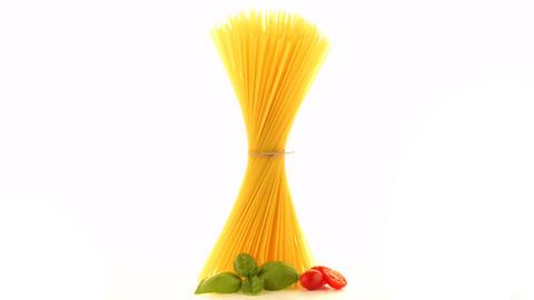Bunch of spaghetti Footage