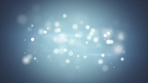 silver blue bokeh lights clean loopable background Animation