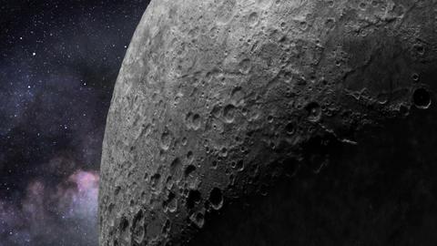 Lunar surface Footage