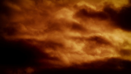Red Cloud abstract background stock footage Footage
