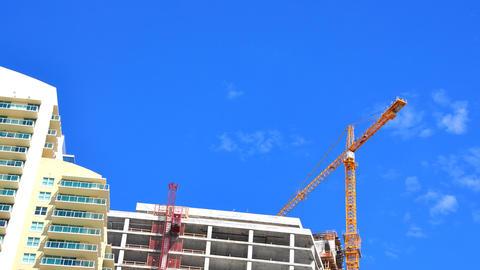 Skyscraper construction Footage